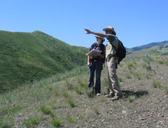 Field research is an essential part of geologic mapping.